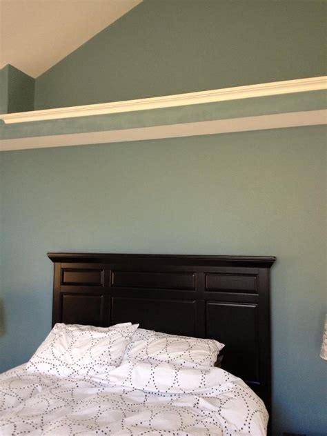 master br sw  moody blue walls sw  creamy