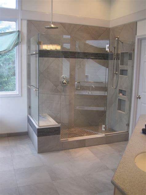 Stone Shower Surround by Tile Installation And Remodeling Beaverton Oregon Tile