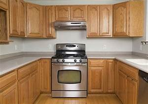 get the look of new kitchen cabinets the easy way With best brand of paint for kitchen cabinets with no step sticker