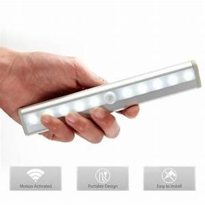 Reglette Led Sans Fil : 10lampes led sans fil pour armoire tiroirs placard achat ~ Edinachiropracticcenter.com Idées de Décoration