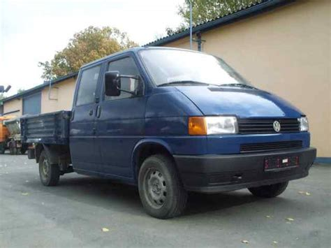 vw t4 pritsche volkswagen vw t4 doka pritsche 2 4 open delivery from germany for sale at truck1 id