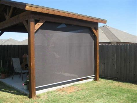 beat the heat we are patio shades manual motorized
