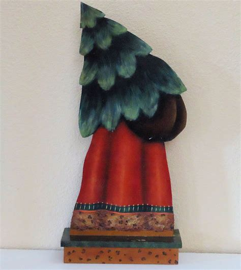 decorative painting  hand painted holiday tole santa