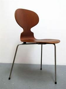 Arne Jacobsen Ant Chair : trio of arne jacobsen ant chairs at 1stdibs ~ Markanthonyermac.com Haus und Dekorationen
