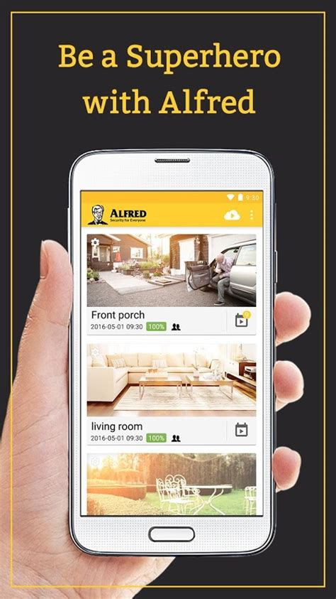 alfred home security camera android apk