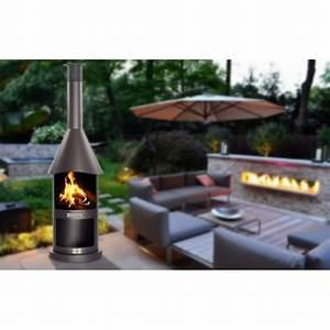 Cheminée Barbecue Exterieur : chemin e d 39 ext rieur barbecue pocket noir ~ Preciouscoupons.com Idées de Décoration