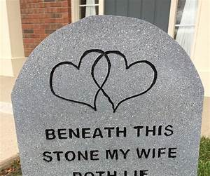 Headstones with engraved letters 7 for Headstone lettering