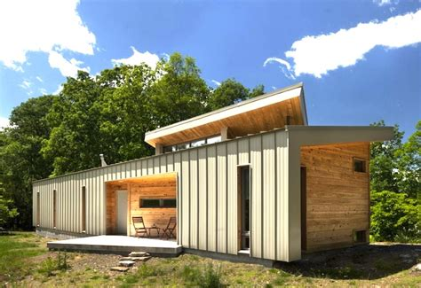 west virginia ridge house  modern dog trot home