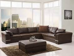 Sectional Living Room Couch Trendy Design Brown Leather Sectional Sofa With Modern