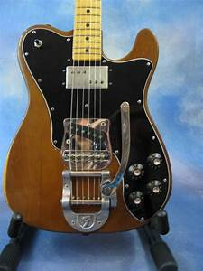 1973 Fender Telecaster Custom With Factory Bigsby Mocha