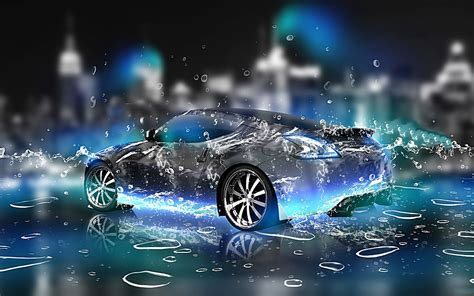 Car Wallpaper For Computer Hd Hq by 3d Car Hd Pictures Widescreen Hd Hq Water Effect