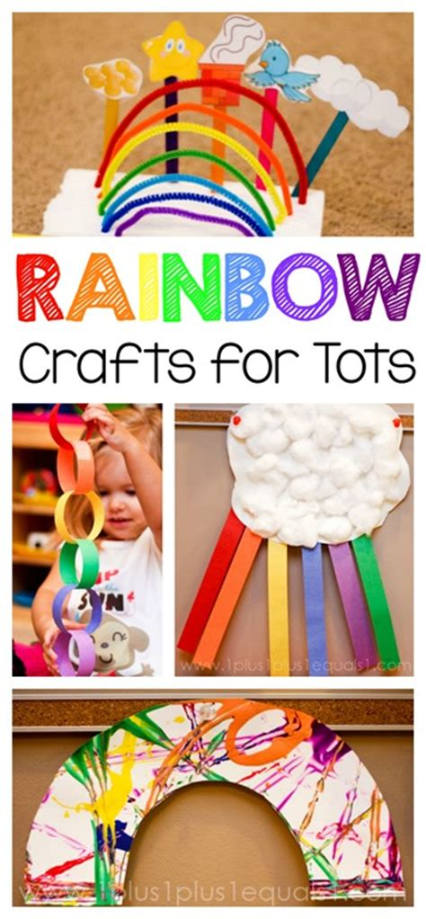rainbow crafts for tots and preschoolers 1 1 1 1 951 | Rainbow Crafts for Tots and Preschoolers