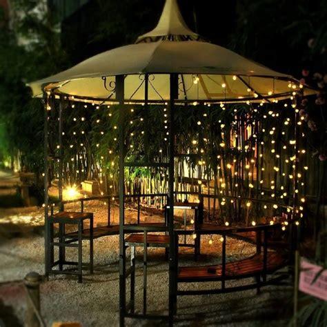 il gazebo illuminare il gazebo di sera 20 idee originali per