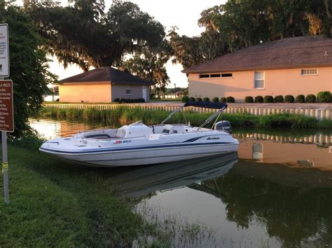 1999 Godfrey Hurricane Deck Boat by Hurricane Deck Boats For Sale In Florida