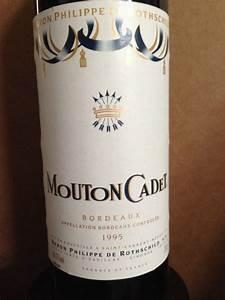 1995 Mouton Cadet  France  Bordeaux