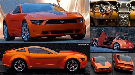 Ford Mustang Concept by Ford Mustang Giugiaro Concept 2006 Pictures