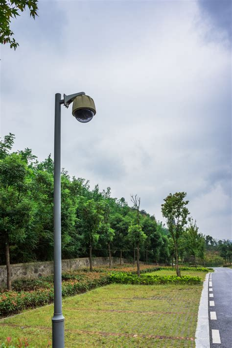 cameras on top of street lights outdoor security camera pole singapore strong outdoor poles