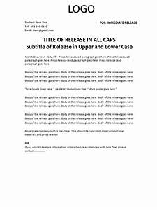 sample press release format press release sample free With concert press release template