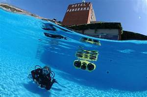 Amazing! First diving drone follows you and capture ...