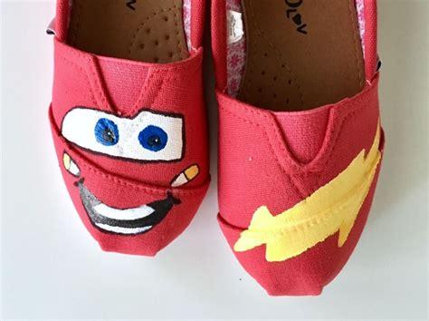 Diy Lightning Mcqueen Shoes