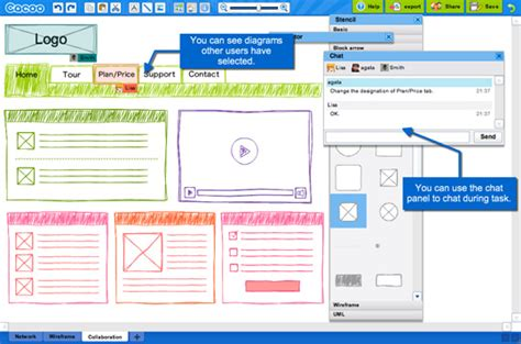 excellent tools  creating web design wireframes