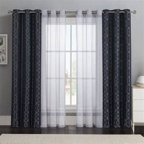 beautiful curtains design bold patterns  sheer solids   living room windows blinds