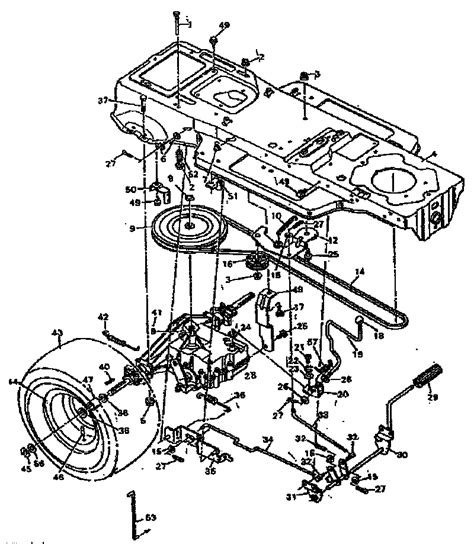 Craftsman Lt4000 Wiring Diagram by Craftsman Lt1000 Deck Wiring Diagram