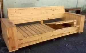 Comment Faire Un Canapé En Palette : tuto canap avec palette plans et guides de construction ~ Dallasstarsshop.com Idées de Décoration