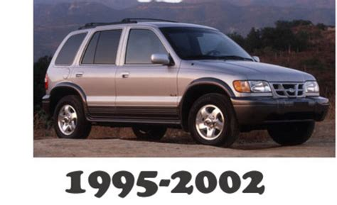car service manuals pdf 2002 kia sportage lane departure warning 1995 2002 kia sportage service repair manual download download m