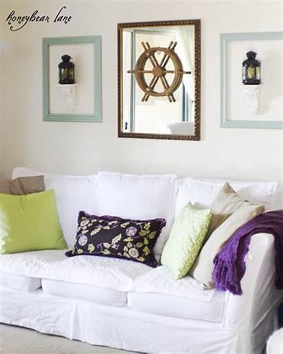 Purple Accents Decor Living Adding Take Wall