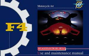 Mv Agusta F4 750 Sr 2003 Owner U2019s Manual