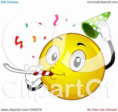 Smiley Celebrating Emoticon Clipart Bnp Studio Collc0148