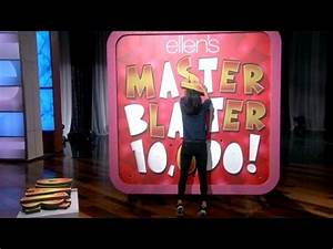 Courteney Cox and The Master Blaster 10,000 - YouTube