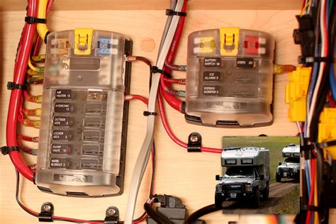 Blue Sea Blade Fuse Box Circuits With Cover