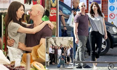 Amazon founder Jeff Bezos vacations in Italy with his wife ...