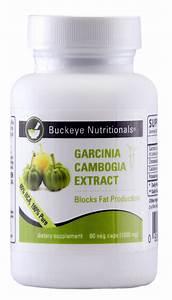 Garcinia Cambogia Extract 100  Pure 60vc  Buckeye Nutritionals