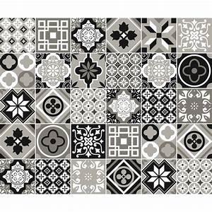 Stickers Carreaux De Ciment : stickers carreaux de ciment salle de bain ~ Melissatoandfro.com Idées de Décoration