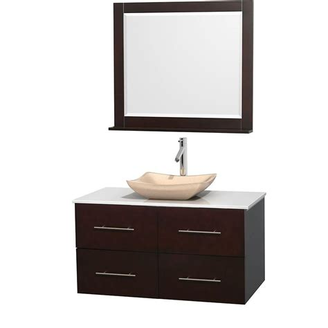 wyndham collection vanity wyndham collection centra 42 in vanity in espresso with