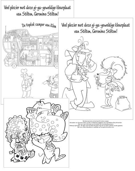 Kleurplaat Alleen Ken by Downloads Geronimoboeken Jouwweb Nl