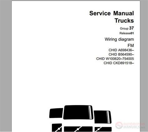 volvo wiring diagram fm euro5 auto repair manual forum heavy equipment forums