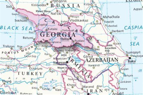 Mappa Georgia - Cartina della Georgia