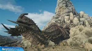 Final Fantasy XV FFXV Adamantoise Boss Fight Location