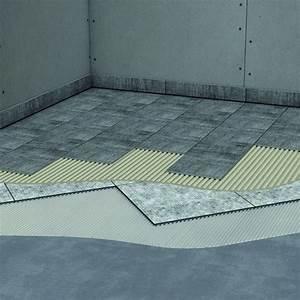 Isolation Sous Carrelage : syst me d 39 isolation acoustique en plaques sous carrelage ~ Melissatoandfro.com Idées de Décoration