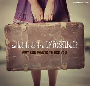 God Is Calling You What to Do