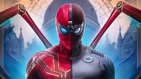 spiderman   home suit hd superheroes