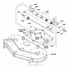 Simplicity 2691321-00  48 U0026quot  Fabricated Mower Deck Parts Diagram