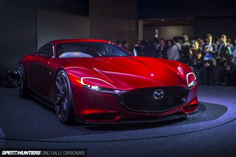 mazdas rotary dream  rx vision concept revealed
