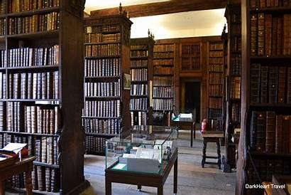 Library College Queens Cambridge Dark Darkhearttravel