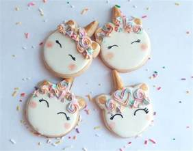 Instagram Unicorn Cookies