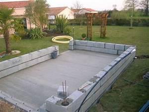 Construire Un Garage En Bois Soi Meme : comment construire garage parpaing ~ Dallasstarsshop.com Idées de Décoration